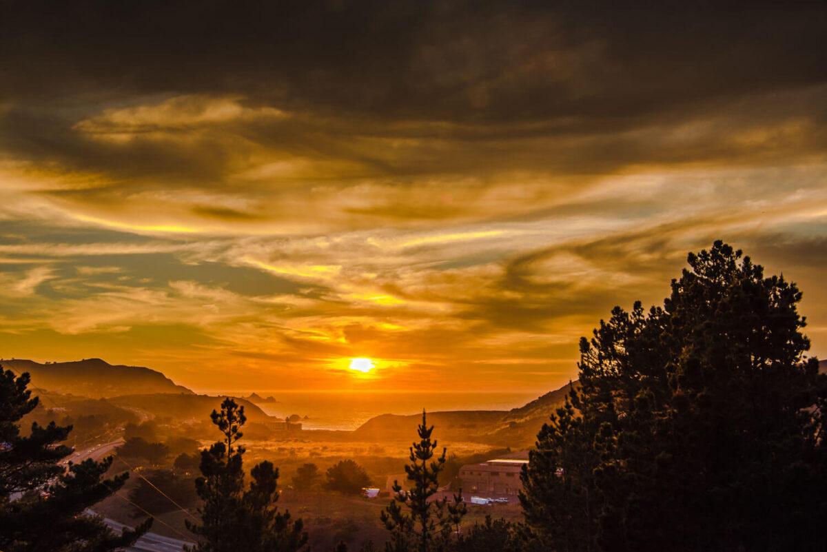 Perfect Shot: Pescadero Sundown