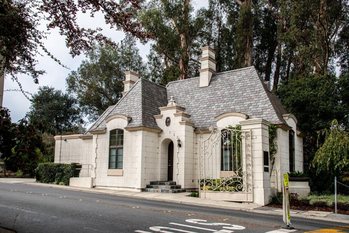 Landmark: Carolands Gate House