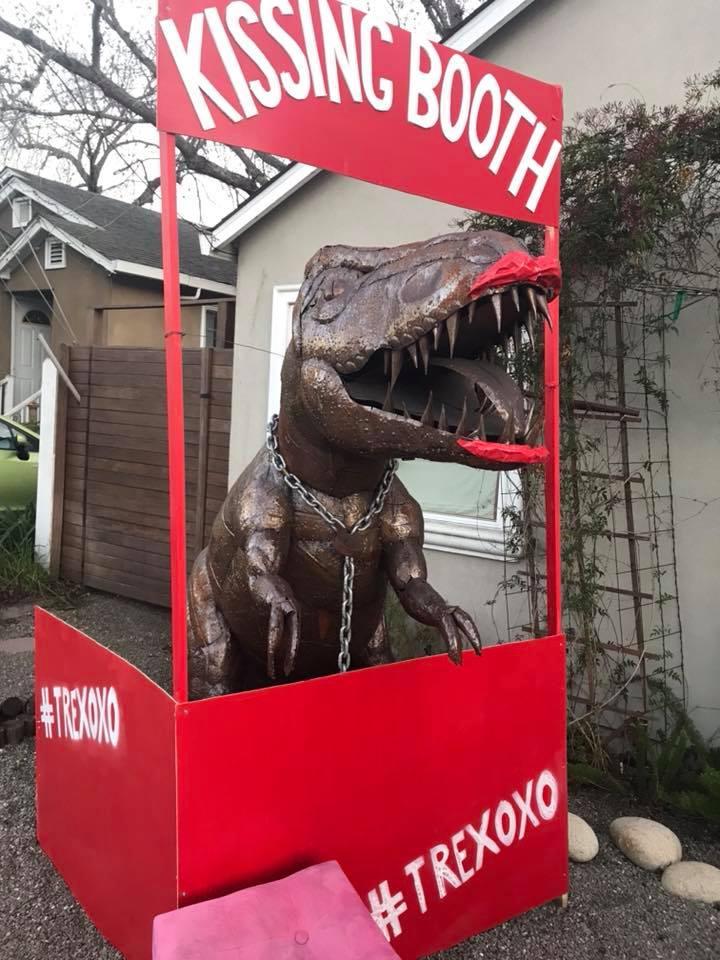 Landmark: Dug the T-rex