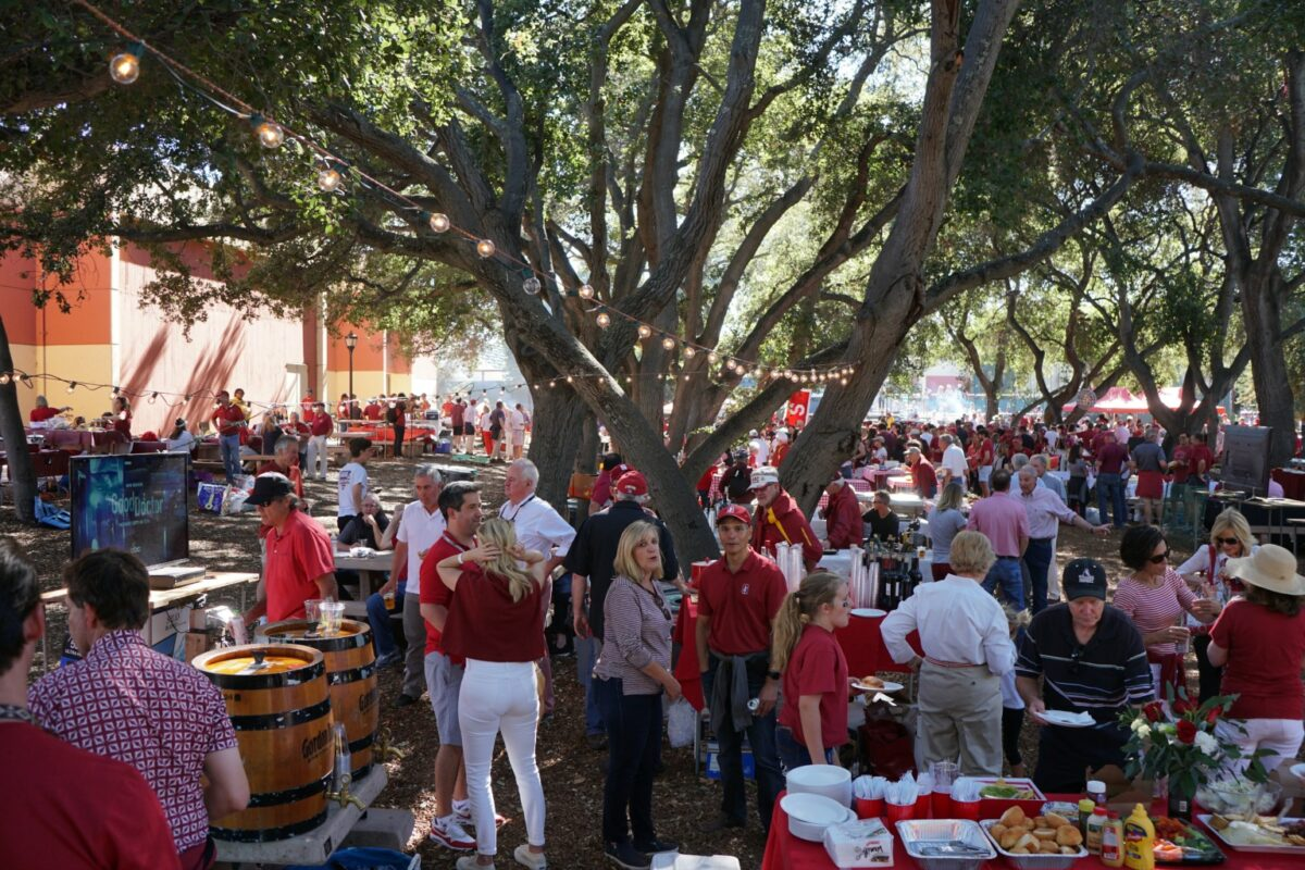 Stanford Style: Getting Your Tailgate On